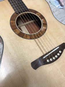 Wälivaara OM, steel string guitar