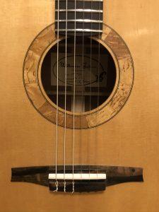 Wälivaara OM, cross-over nylon string guitar